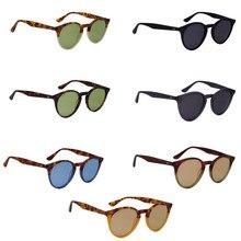 Clc classcial nova moda redonda marca acetato design óculos de sol homem mulher motorista tons masculino vintage espelho spuare verão
