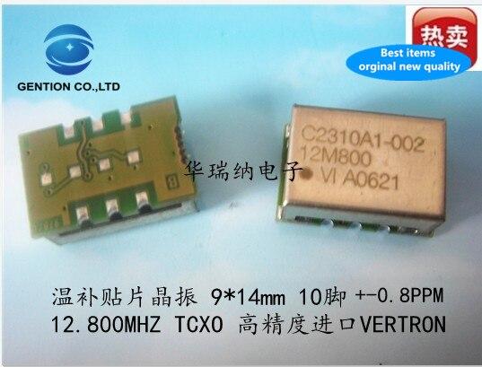 2pcs 100% New And Orginal C2310A1 TCXO Temperature Subsidy Chip Crystal 9X14 SMD High Precision 12.8M 12.8MHZ
