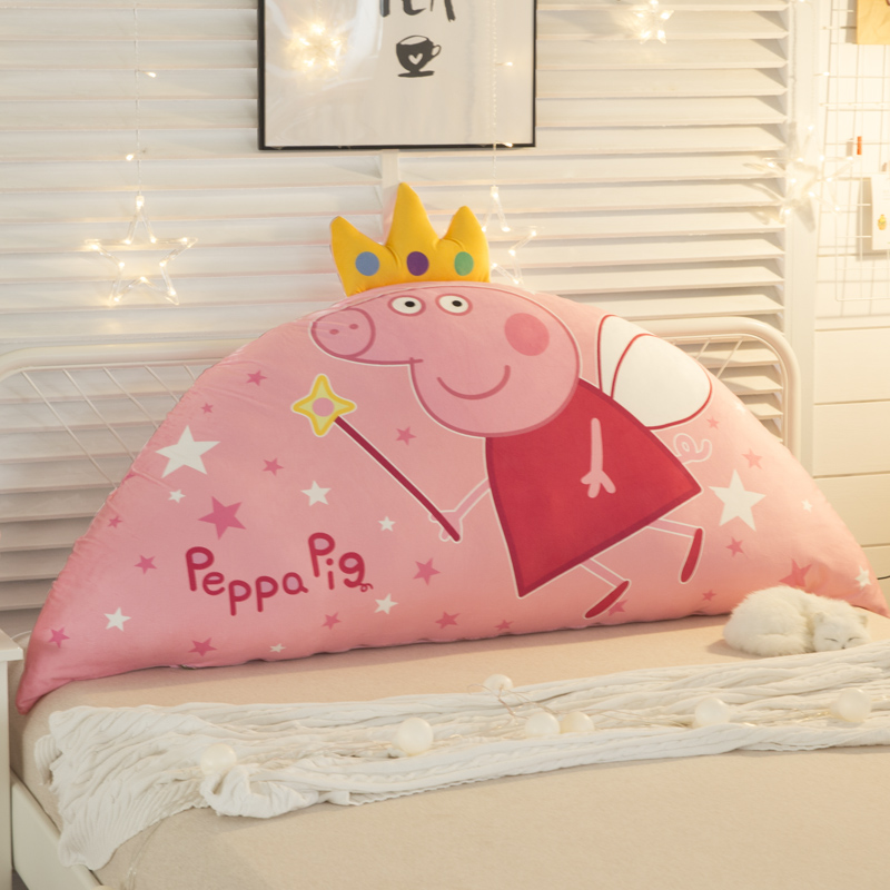 Cartoon Bedside Cushion Cute Children Pillow Bed Back Cushion Korean Princess Against Pillow Tatami Soft Bag Big Back
