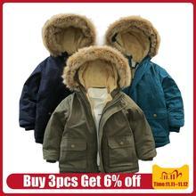 Veste dautomne hiver 2020, manteau chaud pour garçons, de 4 à 5 à 6 à 7 à 8 à 10 à 12 ans, vêtements dextérieur à capuche