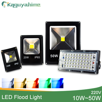 LED Flood Light Outdoor 10W 20W 30W 50W 100W 150W 200W led floodlight Wall lamp IP65 Waterproof Garden 220V 110V RGB Lighting image
