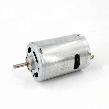RS-540SH-6035 Motor Mini DC con cepillo, Motor de alta velocidad de alta potencia DC3.6V-7.2V Motor de modelo de herramienta, diámetro del eje 3,17mm