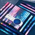 12 stücke Konstellation Gel Pen-Set 0,5mm Sternen Schwarze Tinte Stift für Mädchen Geschenk Schreibwaren Büro Schule Schriftlich Lieferungen kawaii Stift