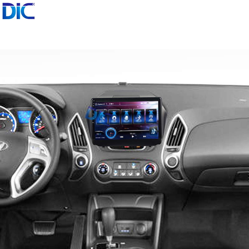 Android 9.0 Touch Screen Multimedia 4K Carplay Voice Control Steering Wheel Car Player Navigation GPS For Hyundai Ix35