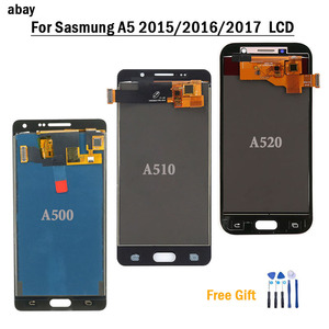Image 1 - For Samsung Galaxy A520 A520F SM A520F A5 2017 2015 2016 A510 A500 LCD Display Touch Screen Digitizer Glass Assembly Replacement