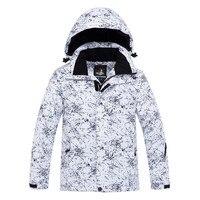 Hot Arctic Queen Brand Waterproof Windproof And Warm Fabric Jacket Children's Skiing And Snowboarding Jacket 2 Colors