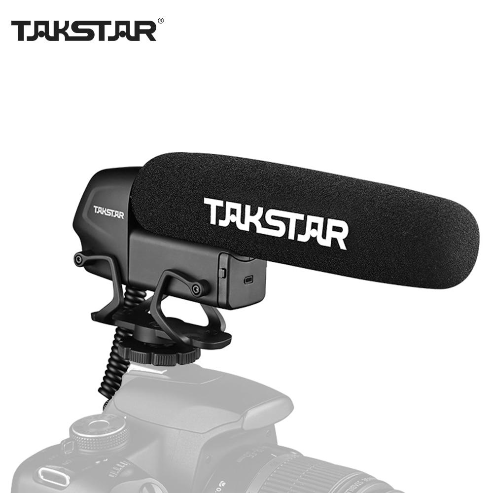 TAKSTAR SGC-600 конденсаторный микрофон для интервью с камерой микрофон суперкардиоидный 3-уровневый Контроль усиления низкий выключатель штекер...