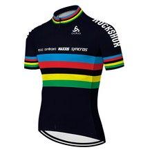 2020 scottes-rc men camisa de ciclismo verão secagem rápida respirável manga curta bicicleta jérsei maiot hombre