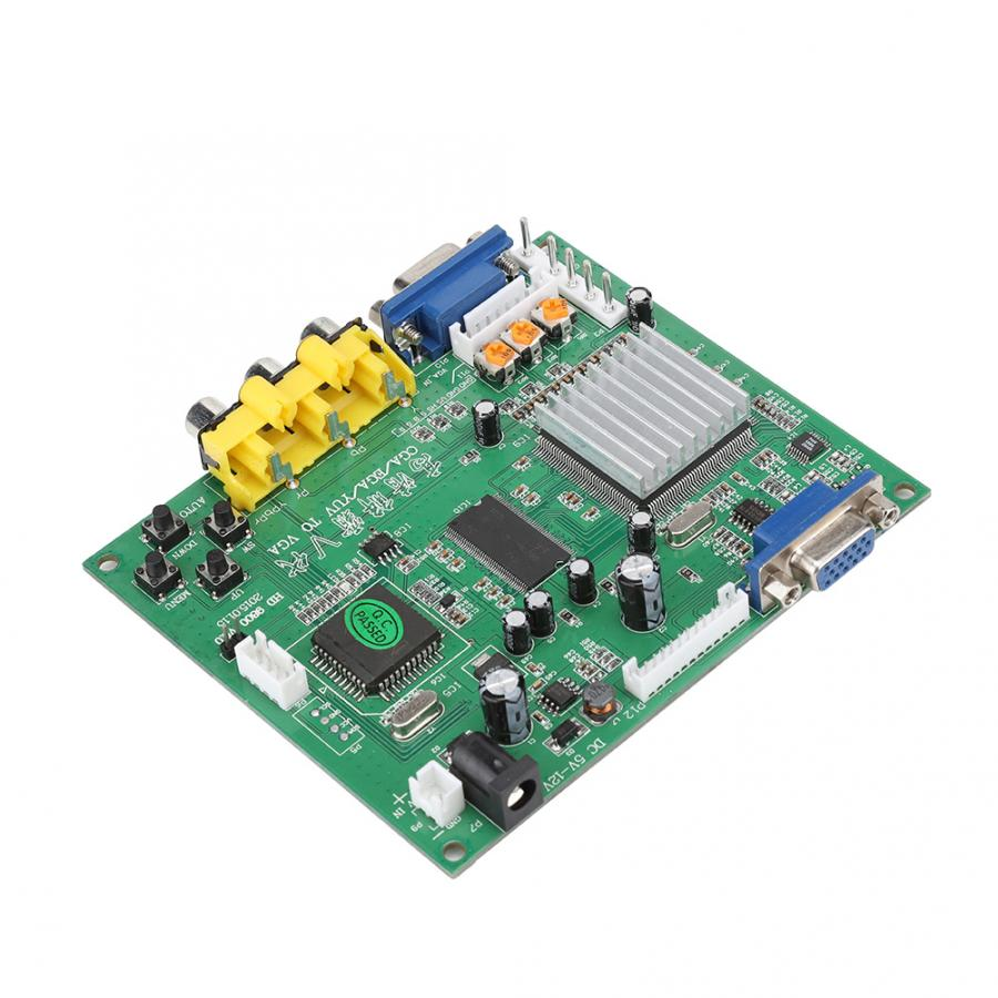 Image 4 - audio cable Arcade Game RGB/CGA/EGA/YUV to VGA HD Video Converter Board Supports for all VGA monitor CRT / LCD / PDP / PROJECTReplacement Parts & Accessories   -