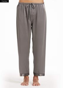 Image 4 - LilySilk 100 Silk Pajamas Set Men Long 22 momme Luxury Natural Mulberry Silk Mens Clothing Free Shipping