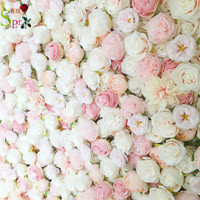 SPR 4ft*8ft roll up flower wall wedding decoration flower party occasion stage backdrop decorative flower table centerpiece
