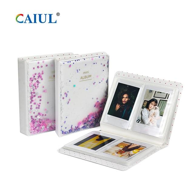 Фото альбом caiul с сыпучим песком для fujifilm instax mini11/9/8