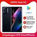 Оригинальный смартфон OPPO Find X3 5G смарт-телефон Snapdragon 870 6,7