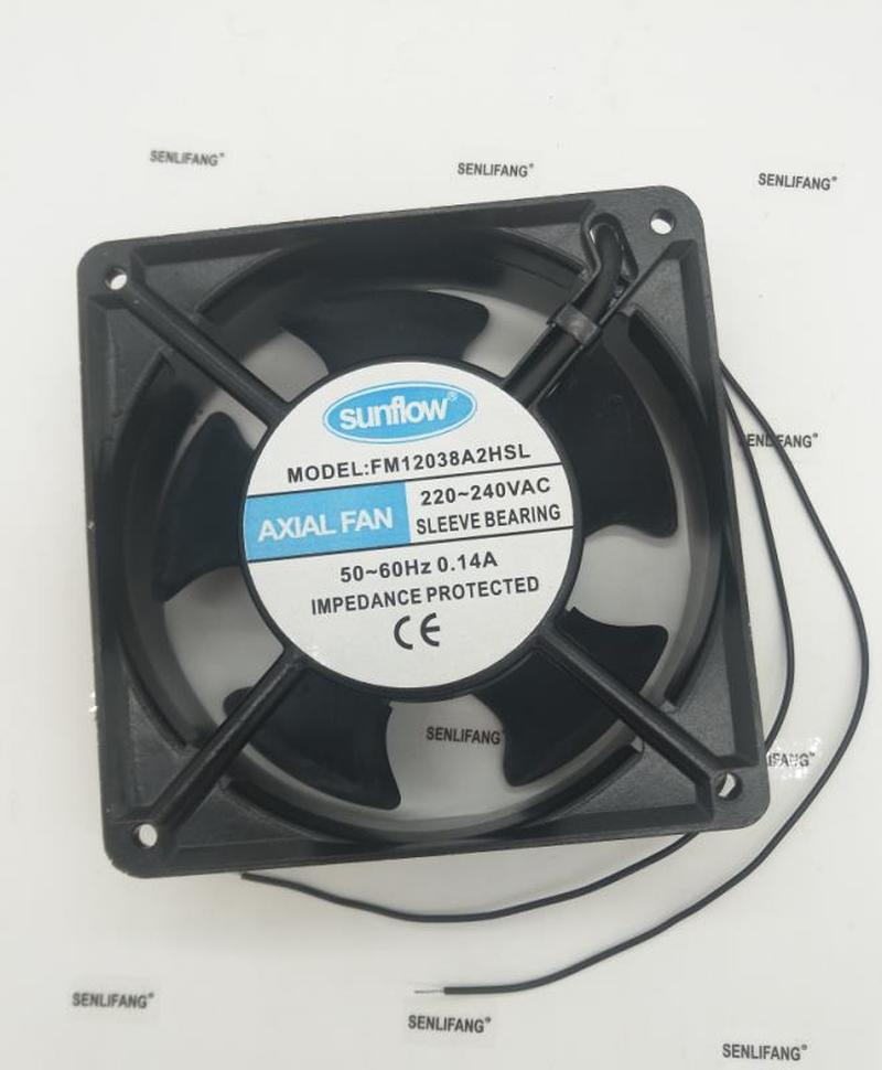 For Axial Fan AAA FM12038A2HSL 220V-240V 0.14A Cooling Fan