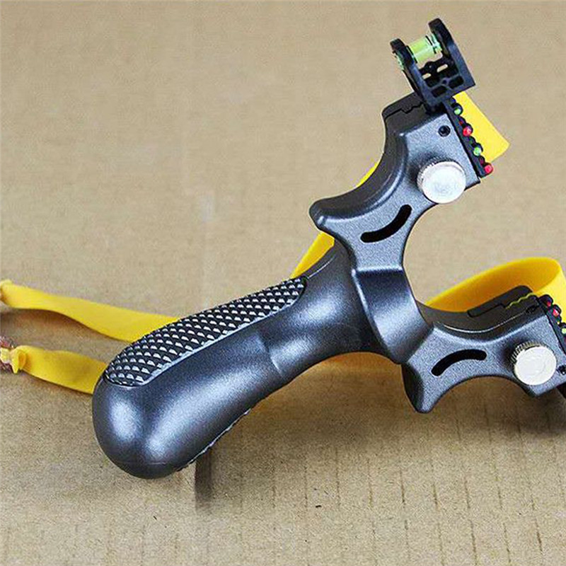 1Pcs Rubber Slingshot High Precision Flat Leather Slingshot Professional Fast Bow Outdoor Special For Hunting Tools Slingshot
