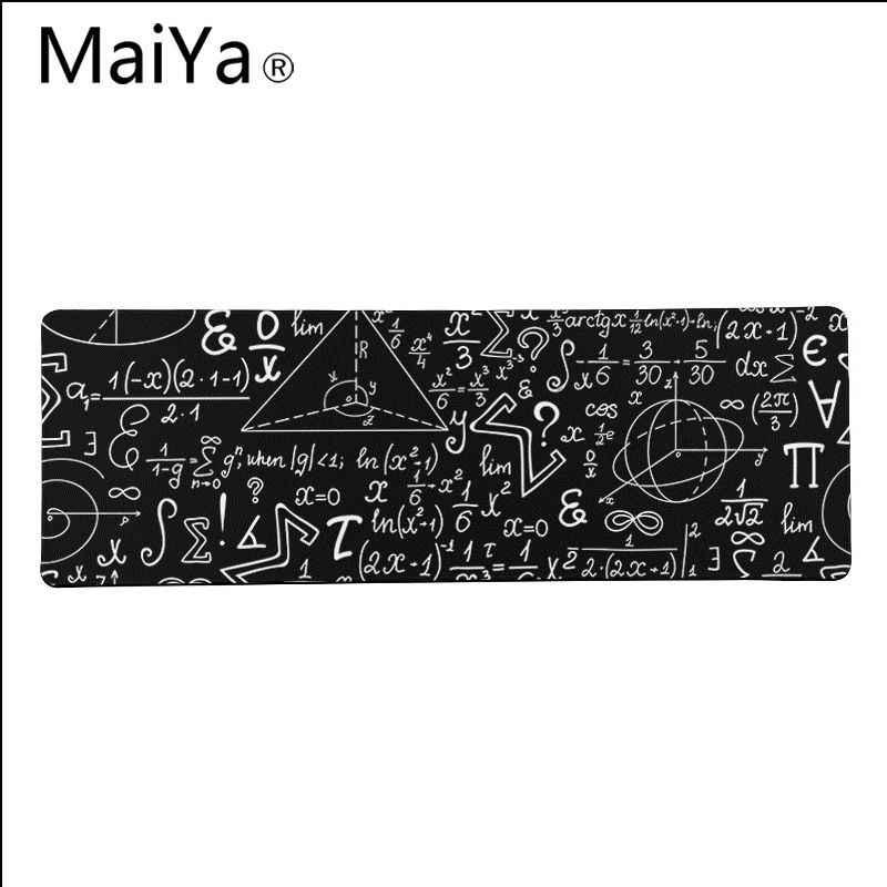 Maiya Top Quality geometryczna formuła matematyka Laptop podkładka pod mysz darmowa wysyłka duża podkładka pod mysz klawiatury Mat