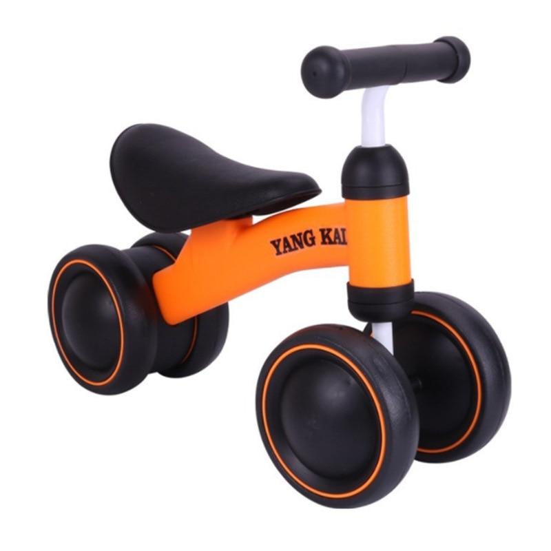 Niños tres bicicleta ruedas equilibrio Scooter bebé andador 2 6 años 5 en 1 triciclo multifunción paseo coche de juguete - 4