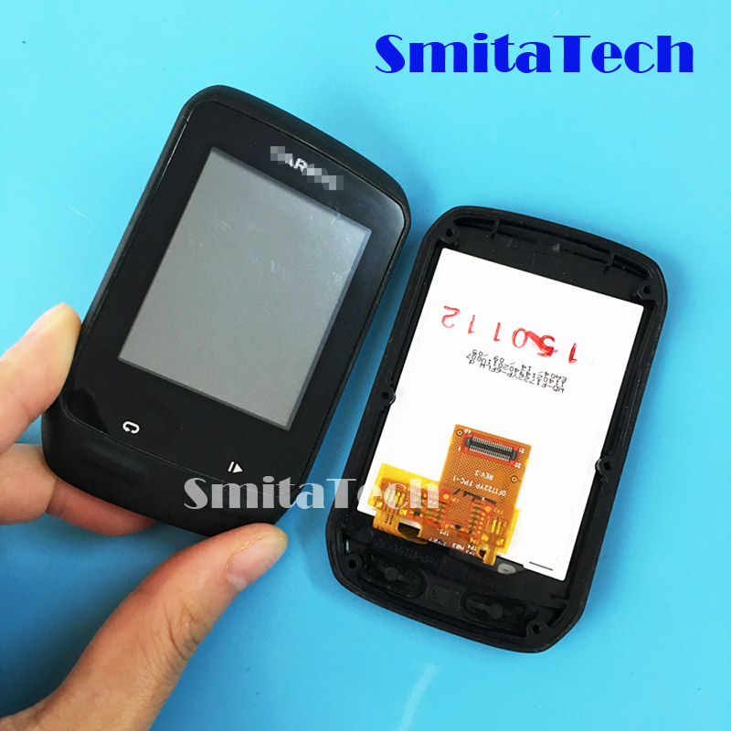 For Garmin Edge 510 Edge 510J Bicycle Speed Meter GPS 2.3 Inch Lcd Screen With Touch Screen With Front Frame Panel Tested Well