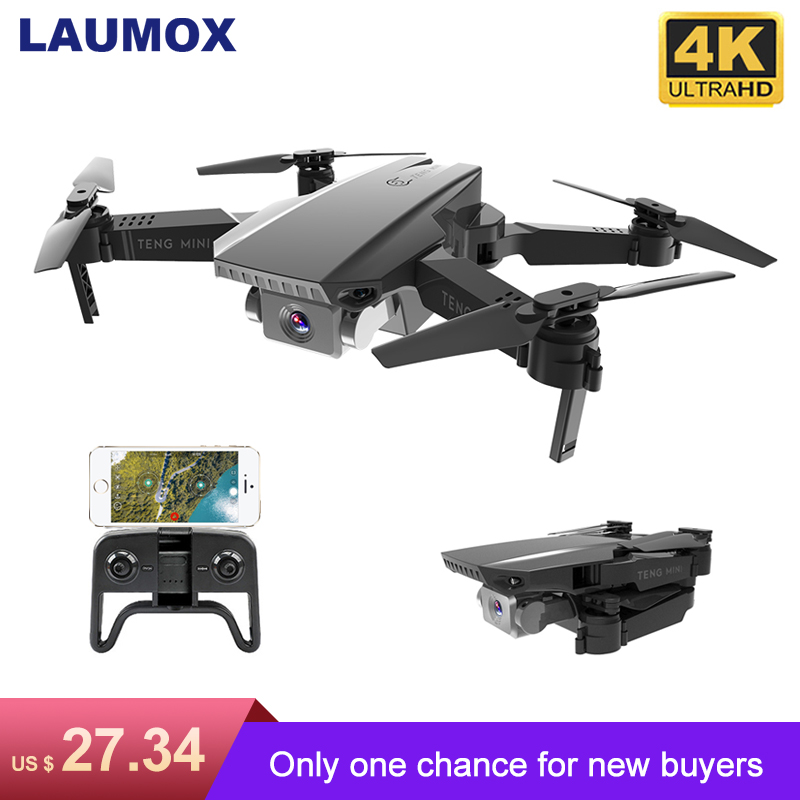 LAUMOX M71 720P RC Drone 4K Optical Flow HD Camera Mini Foldable Quadcopter WIFI FPV Selfie Drones Quadrocopter Toy VS KF609(China)