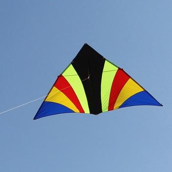 Cometa delta de volant kitesurf vlieger para exteriores, fábrica de cometas weifang,...