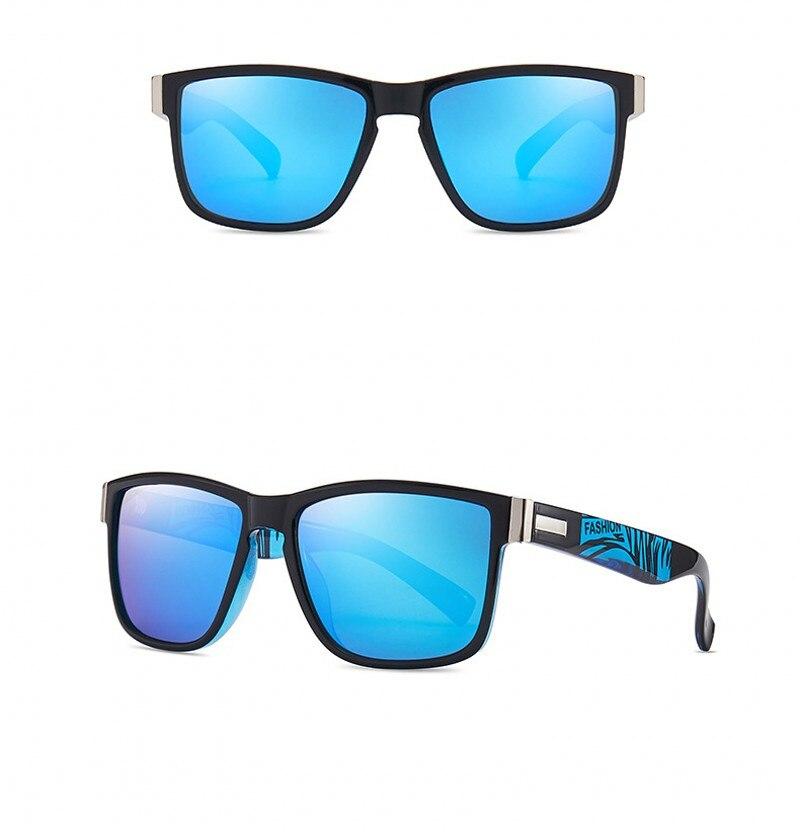 JASPEER Brand Design Polarized Sunglasses Men Driver Shades Male Vintage Sun Glasses For Men Spuare Mirror Summer UV400 Oculos