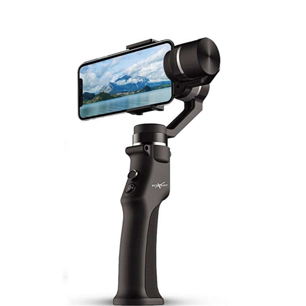 LHMZNIY nowy 3 axis Handheld stabilizator gimbal uchwycić śledzenie twarzy dla smartfonów iphone kamera akcji Gopro3/4/5/6|Ręczne gimbale|   -