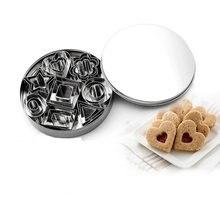 Ensemble de moules à biscuits en acier inoxydable, 24 pièces, outils de cuisson, emporte pièce de pâtisserie, pasteleria, sortie d'usine
