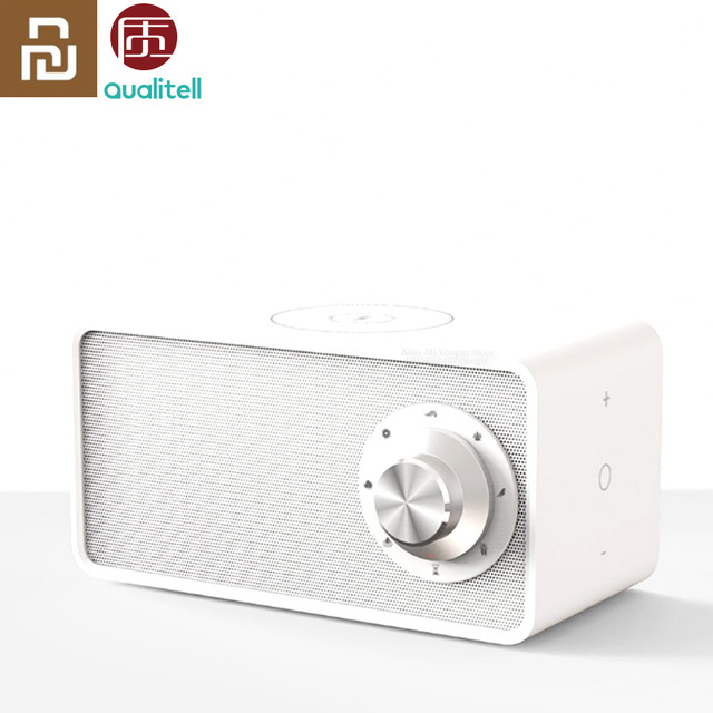Youpin Zhiling Qualitell Wireless Charger White Noise Speaker BLT5.0 EPP Protocol 10W fast Charging Charger Speaker