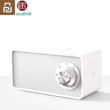 Youpin zhking carregador sem fio, carregador qualitell sem fio, alto falante branco, blt5.0, epp, protocolo 10w, carregamento rápido, alto falante