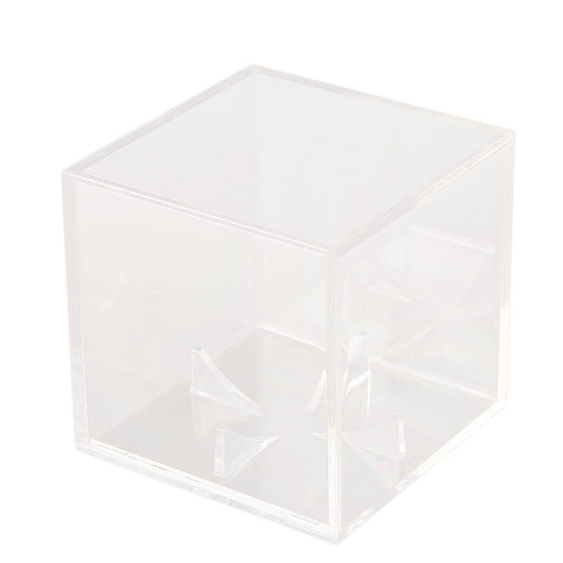 Acrylic 9 Inch Baseball Box Display Golf Tennis Ball Transparent Case For Souvenir Storage Box Holder Uv Protection Dustproof