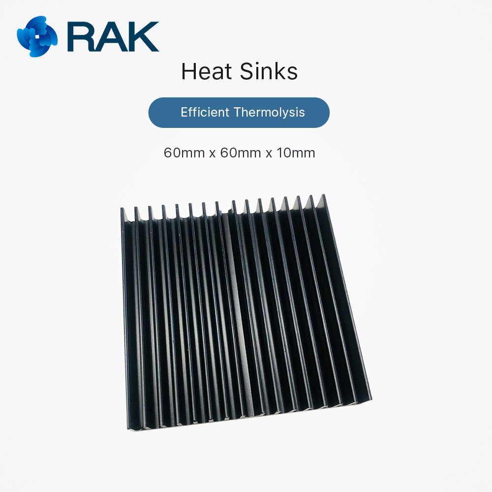 Disipadores de calor de aluminio módulo de puerta de LoRa RAK831 y ventilador de enfriamiento Raspberry pi con lámina de silicona termolisis eficiente Q116