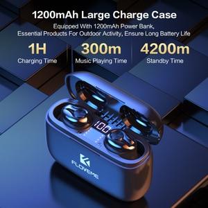 Image 5 - FLOVEME Tai Nghe Nhét Tai Cho TWS 5.0 Mini Cuffie Bluetooth Tai Nghe Nhét Tai Fone De Ouvido 3D Âm Thanh Stereo Tai Nghe Nhét Tai Hỗ Trợ Dành Cho IOS Android