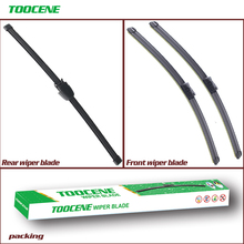 Front and Rear Wiper Blades For Skoda Fabia 5J 2006-2014 Auto Windshield Windscreen wiper Window Car Accessories 21 #8243 +21 #8243 +13 #8243 cheap toocene natural rubber 2007 2008 2009 2010 2011 2012 2013 2014Year 0 35kg clean the windshield ISO9001 cj212113v 21+21