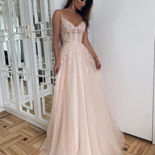 Robe-De-Mariee Wedding-Dress Color Lace Appliques Sweetheart Pink Elegant Princess Sleeveless