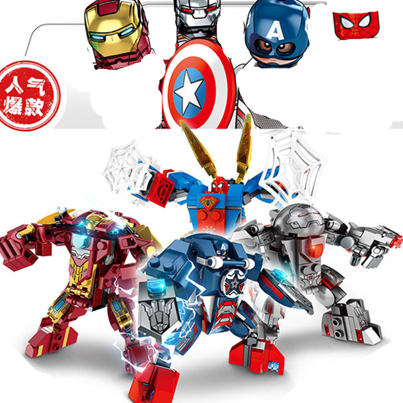 Hawt Dawg Man Hero Block Bricks Figures Toys Kids Children Gifts knights city