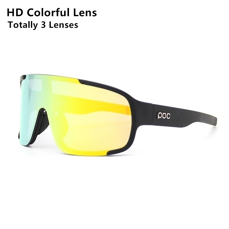 Men Women Sport Cycling Bike Eyewear Bicycle POC Sun Glasses Oculos Polarized Ciclismo Motorcycle Fishing Sunglasses For Cycling