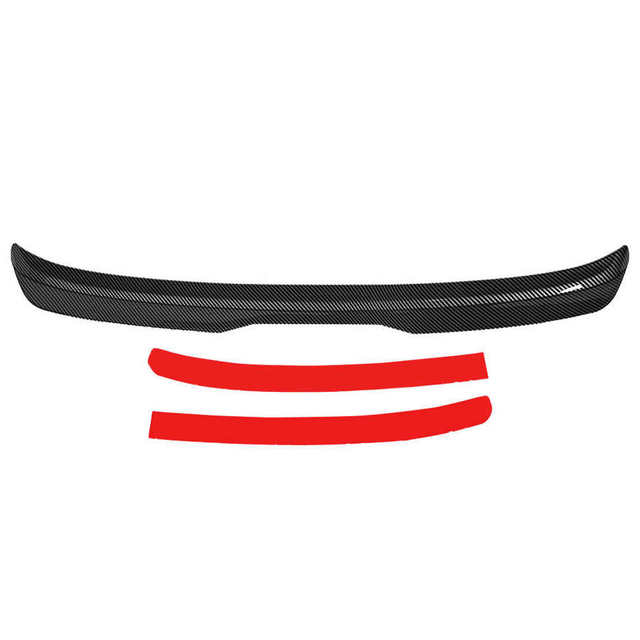 Carbon Fiber Color ABS for Maxton Style Car Trunk Rear Roof Spoiler Wing Fit for VW Golf MK7/MK7.5 GTI R 2013-2020
