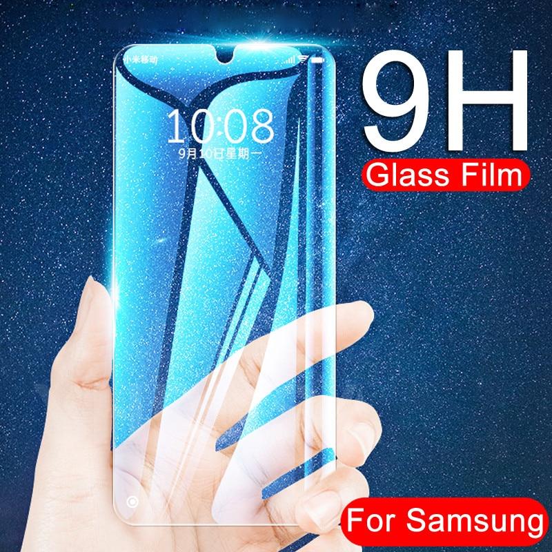 9H HD Tempered Glass For Samsung Galaxy A10 A30 A40 A50 A60 A70 A80 A90 M10 M20 M30 M40 Screen Protector Protective Glass Film