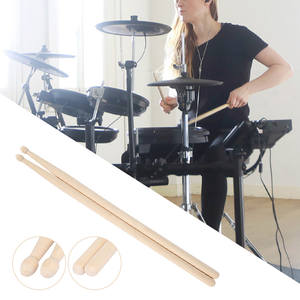 Wood Drumsticks Musical-Instruments Professional Water Drop-Cone One-Pair Maple Head-5a/7a