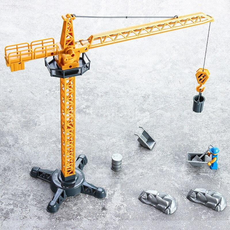1/32 Hot Sale Traktor Crane Die-cast Vehicle Model Car Toys For Children Tractor Toys
