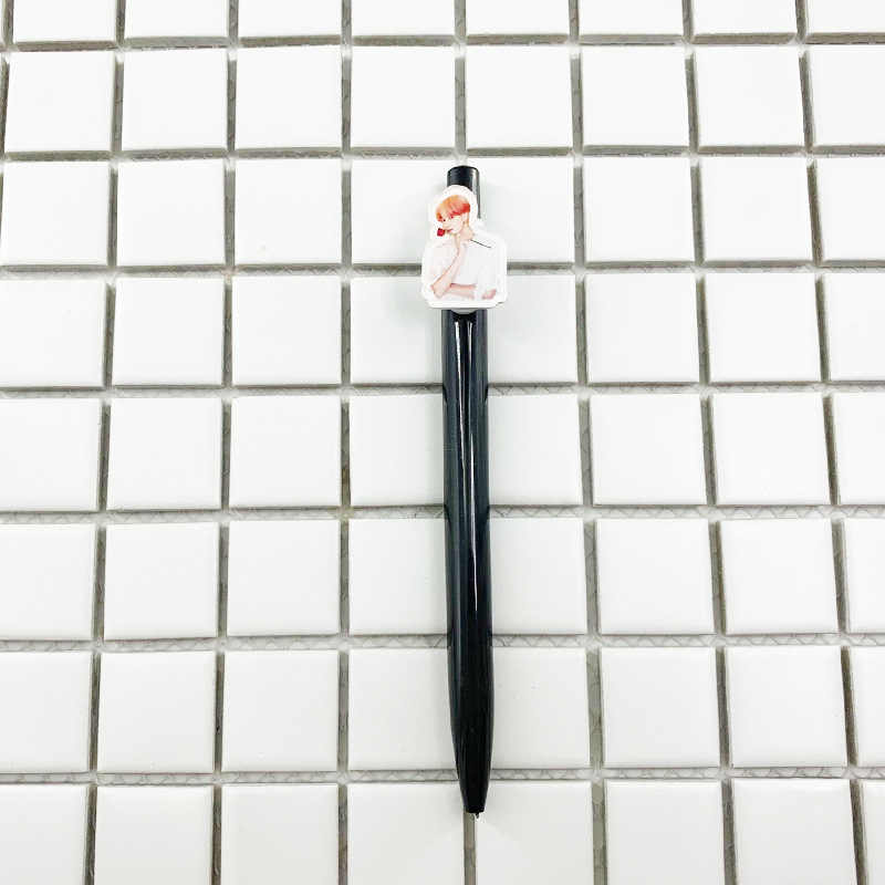 Kpop bangtan niños bolígrafo Mapa del alma persona ablum tinta negra de alta calidad bolígrafo kpop bangtan niños papelería conjunto