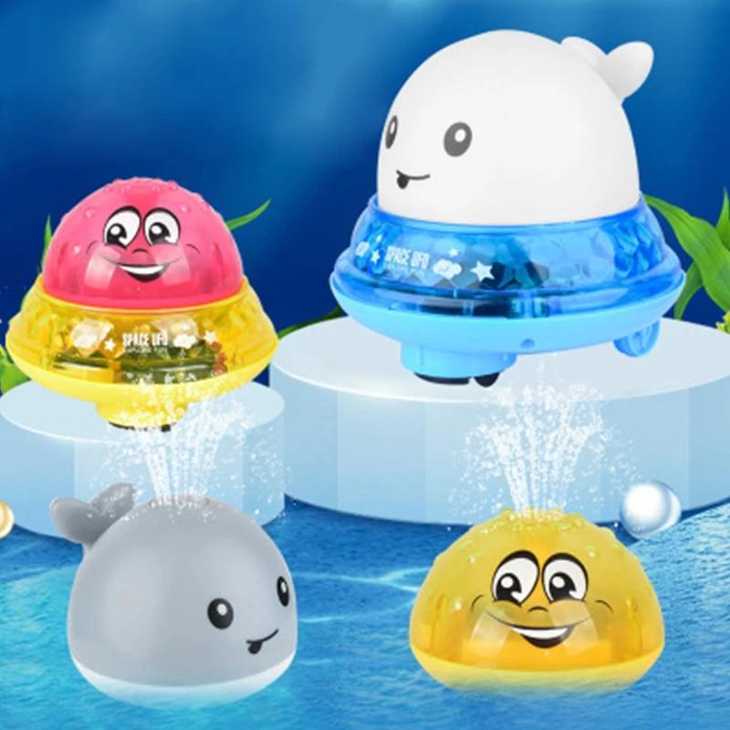 赤ちゃん面白い電気お風呂のおもちゃタコ動物子供浴室水噴霧風呂のおもちゃ幼児シャワー水泳水遊び Bath Toy Aliexpress