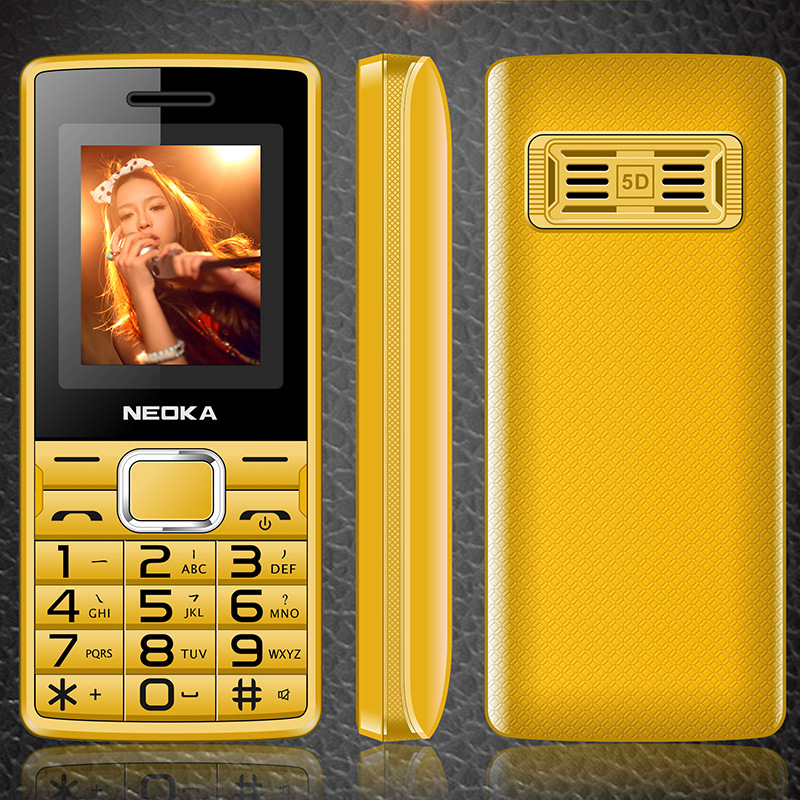 Special Price L1/A7 Meteor 1.8-Inch Dual Card Straight Elder People Mobile Button Feature Phone Voice King E-Books