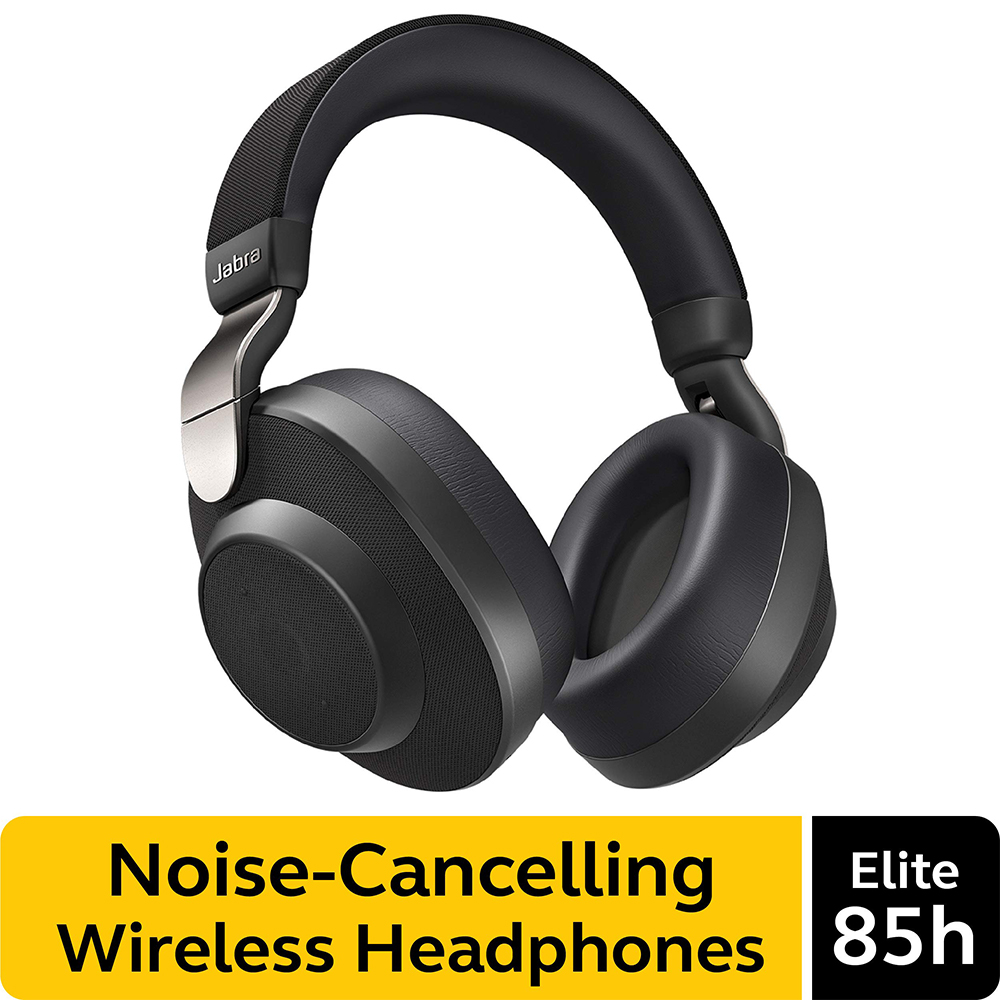 Jabra Elite 85h Wireless Noise Canceling Headphones Over Ear Bluetooth Headphones Compatible With Iphone Android Built In Mic Bluetooth Earphones Headphones Aliexpress