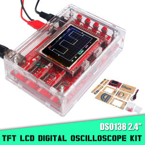 Cover-Shell Oscilloscope-Kit Handheld DSO138 Pocket-Size Digital LCD TFT for Diy-Parts