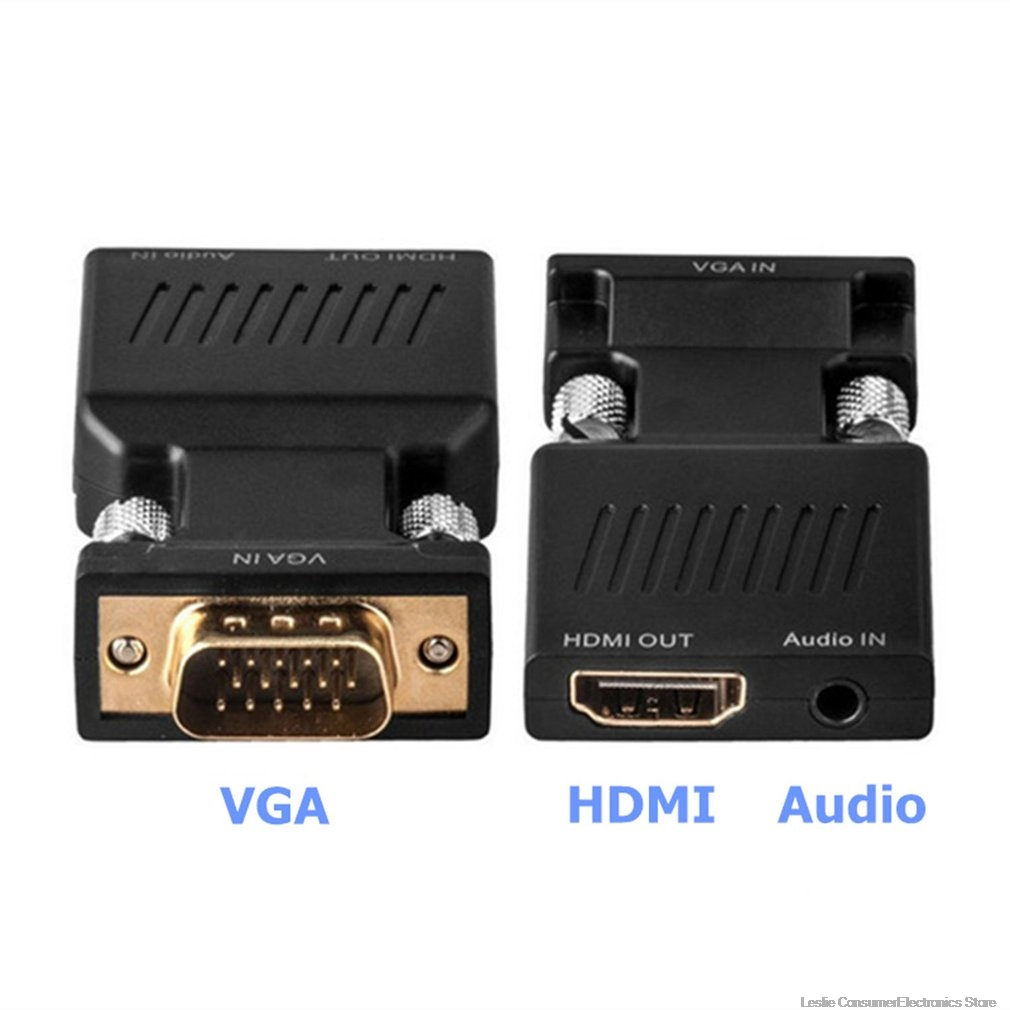 Adaptador DVI a VGA DVI-D a VGA DVI 24+1 DVI-D macho a VGA hembra adaptador convertidor para tarjeta de visualizaci/ón PC