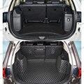 Lsrtw2017 кожаный коврик для багажника автомобиля Грузовой вкладыш для Mitsubishi Outlander 2013 2014 2015 2016 2017 2018 2019 2020 ковер
