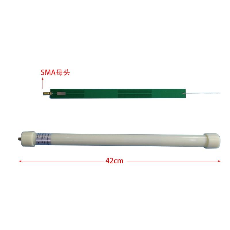 ADS-B 1090 MHz 20W PCB Strip-line 4 Half-Wave Antennas With PVC Housing 42CM SMA Female FOR Accept Signal