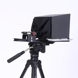 Image 2 - Teleprompter de 10 pulgadas para tableta iPad, para entrevista al aire libre, voz, cámara DSLR, lector de Prompter