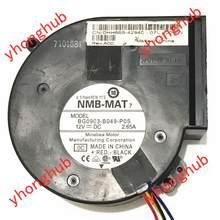 NMB-MAT BG0903-B049-P0S X8934 PE850 DC 24V 0.57A 4-Fio Servidor Ventilador de Refrigeração